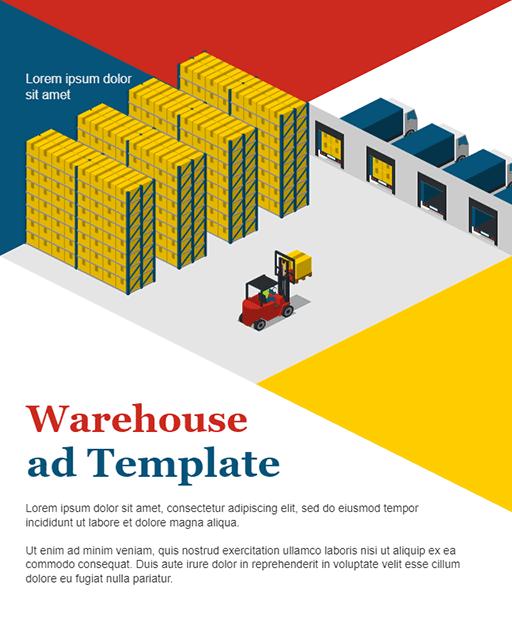 Warehouse Advertisement