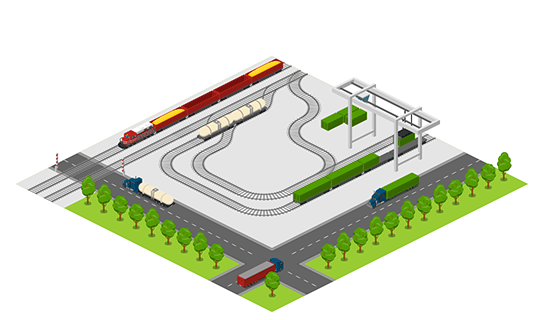Area - Railroad