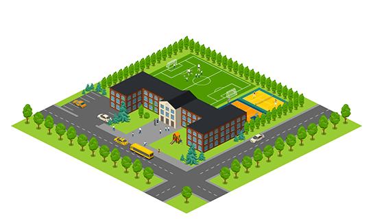 Area - School