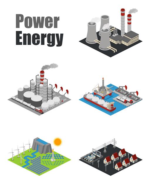Power Energy Icons