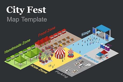 City Fest map