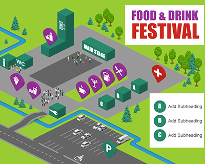 Festival Map Food&Drink