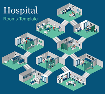 Hospital Rooms Template