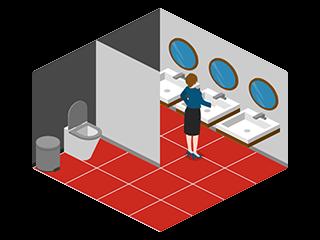 Girls Public Restroom