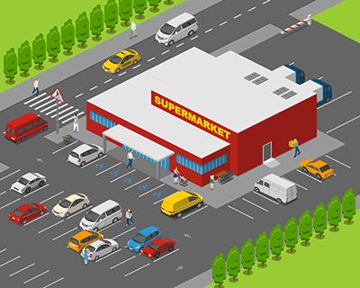 Supermarket Outside