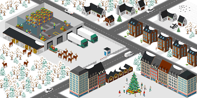 Christmas Presents Warehouse